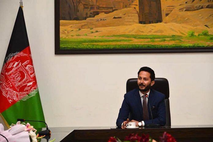 Tahir Qadiry, Chargé d'Affaires, Embassy of Afghanistan