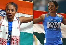 Hima Das and Dutee Chand |