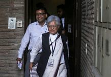 Supreme Court lawyer Indra Jaising at her residence during a raid by the CBI, in New Delhi, Thursday, July 11, 2019. The CBI raided Delhi and Mumbai homes of the Supreme Court lawyers Indira Jaising and Anand Grover for alleged violation of foreign funding rules for their Delhi-based NGO, Lawyers Collective   PTI Photo
