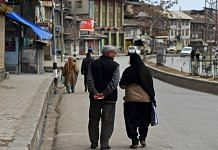 Representational image of people in Srinagar, Jammu and Kashmir | Photo: Anindito Mukherjee | Bloomberg