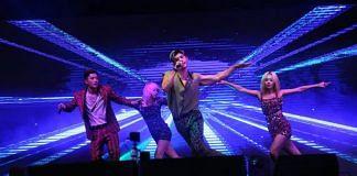 K-pop band KARD during their concert at Talkatora Stadium