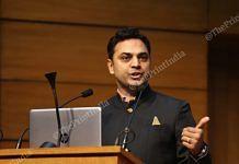 Chief Economic Adviser Krishnamurthy V. Subramanian   Photo: Suraj Singh Bisht   ThePrint