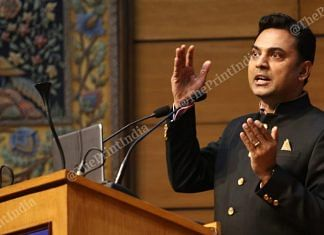 KV Subramanian | Suraj Singh Bisht | ThePrint
