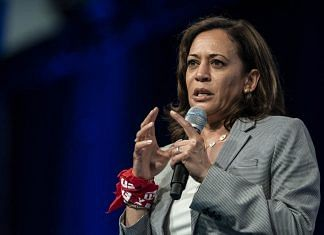 Indian origin Senator Kamala Harris