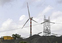 Wind turbines stand at the Ostro Energy Pvt. Ltd., wind farm in Dewas, Madhya Pradesh. | Photographer: Dhiraj Singh | Bloomberg