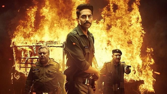A poster of the movie Article 15