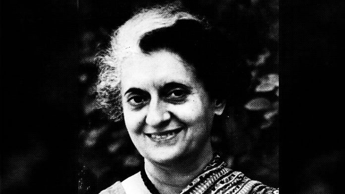 File photo of Indira Gandhi