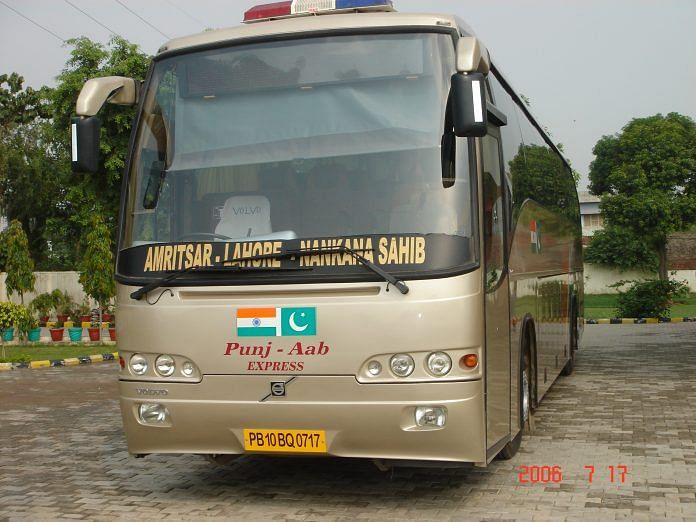 Pakistan Suspends Lahore Delhi Bus Service