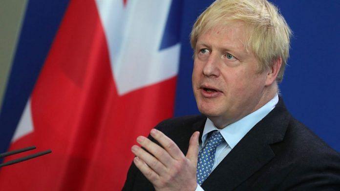 Boris Johnson file photo bloomberg