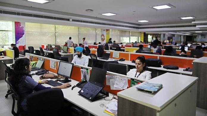 Representational Image | People working at an office | Anindito Mukherjee | Bloomberg