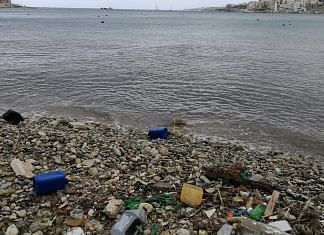 Plastic pollution in water bodies