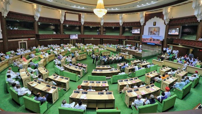 A view of the Rajasthan assembly
