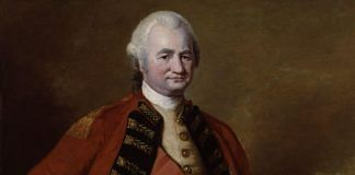 A painting of Robert Clive | Commons