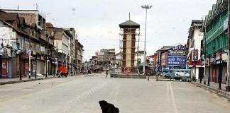 Lal Chowk, Srinagar   Praveen Jain   ThePrint
