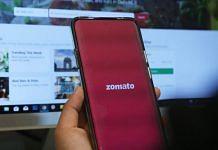 Zomato food delivery app | ThePrint Photo by Manisha Mondal