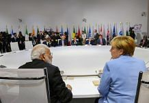 Biarritz: Prime Minister Narendra Modi, German Chancellor Angela Merkel and other world leaders at the G7 Summit in Biarritz | PTI