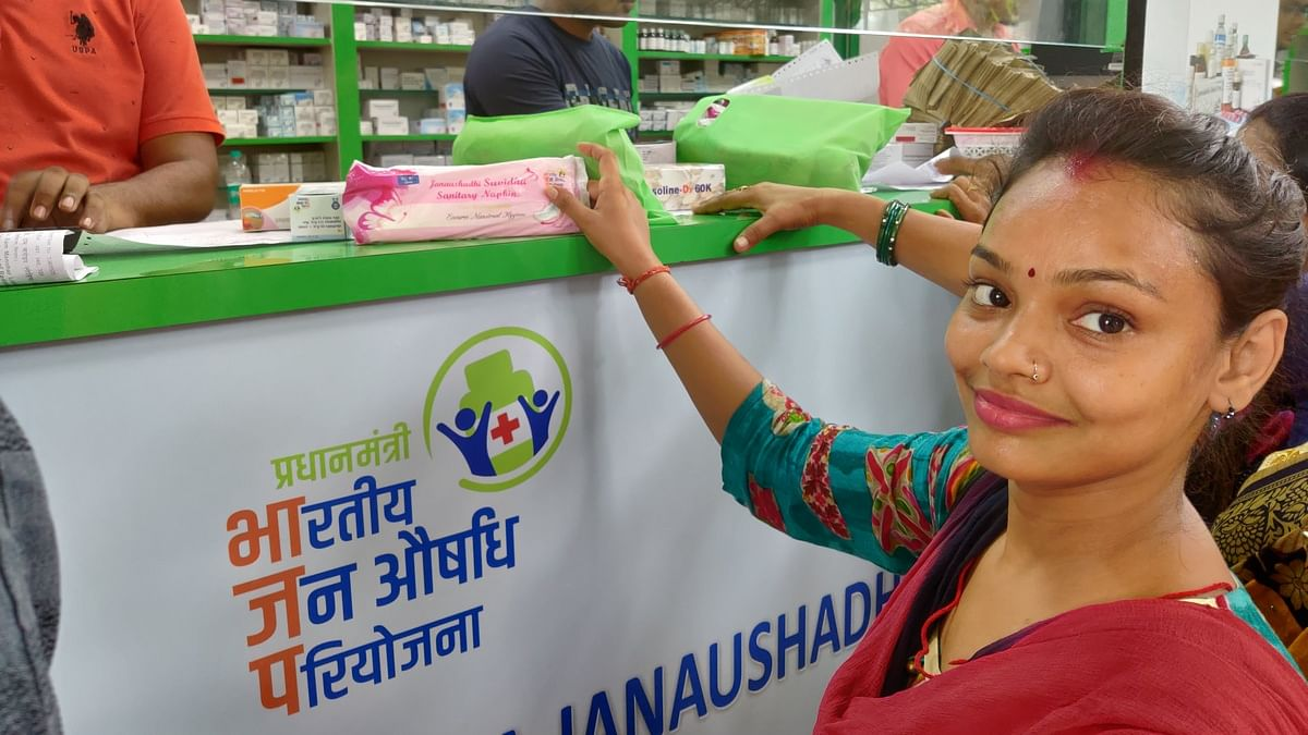 24-year-old Niyati Gupta says she feels no shame buying sanitary pads, saying there is nothing to be embarrassed about.   Photo: Nandita Singh   ThePrint