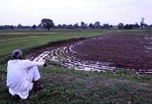The field in which Gond tribals were allegedly massacred by their Gujjar pradhan on 17 July in Ubha village, Sonbhadra district. | Praveen Jain | ThePrint