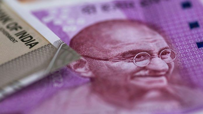 Representational image of Indian currency | Photo: Brent Lewin | Bloomberg