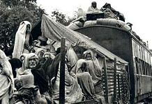 A refugee train, Punjab, during Partition | Commons