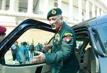 Army chief Gen Bipin Rawat | Photo: Praveen Jain | ThePrint.in
