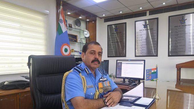 Air Chief Marshal RKS Bhadauria | Twitter: @IAF_MCC