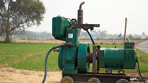 A traditional diesel generator | omcpower.com