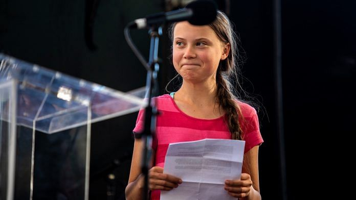 Swedish activist Greta Thunberg in New York | File photo | Demetrius Freeman/Bloomberg