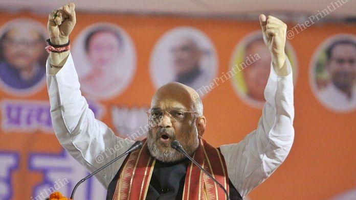 Home Minister Amit Shah | File photo: Praveen Jain | ThePrint