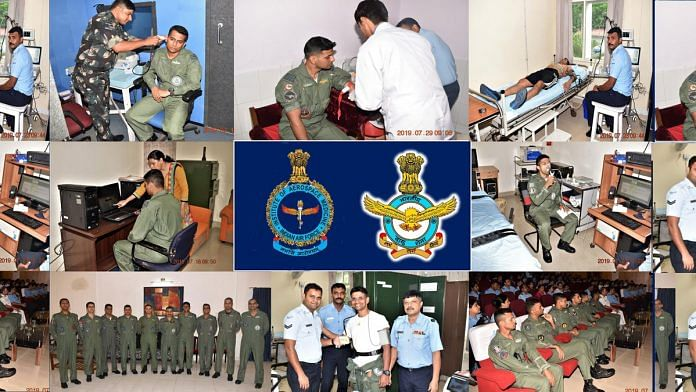 IAF completed Level-1 of Indian Astronaut selection at Institute of Aerospace Medicine. | Twitter
