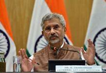 File image of External Affairs Minister S. Jaishankar at a press conference in New Delhi | Photo: Suraj Singh Bisht | ThePrint