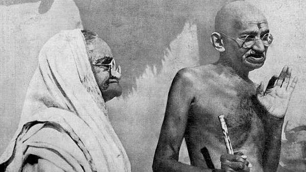 Kasturba Gandhi and Mahatma Gandhi