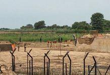 The venue where India and Pakistan officials held technical talks on Kartarpur corridor, at Dera Baba Nanak, Gurdaspur
