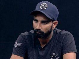 Cricketer Mohammed Shami | @MdShami11 | Twitter