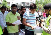 File image of NEET candidates in Jabalpur (for representation) | Photo: ANI