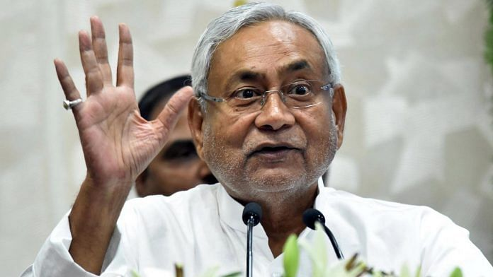 File image of Nitish Kumar | Photo: ANI