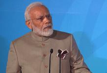 PM Narendra Modi at UN Climate Summit | Twitter: @UNFCCC