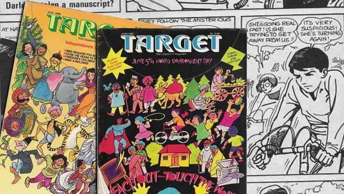 Target's stories focused on real life situations and relatable problems for children of the 80s and 90s | Facebook