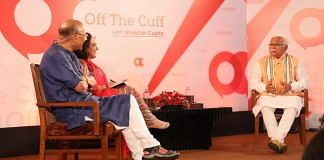 Haryana chief minister M.L. Khattar at Off The Cuff in Chandigarh. | ThePrint