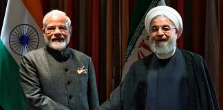 Prime Minister Narendra Modi and President of the Islamic Republic of Iran Hassan Rouhani during a meeting in New York, Thursday, Sept. 26, 2019.   PTI