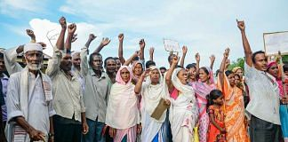 Villagers whose names are missing in the final list of National Register of Citizenship stage a protest in Assam   PTI