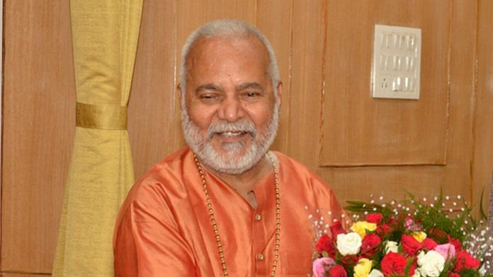 File photo of Swami Chinmayanand