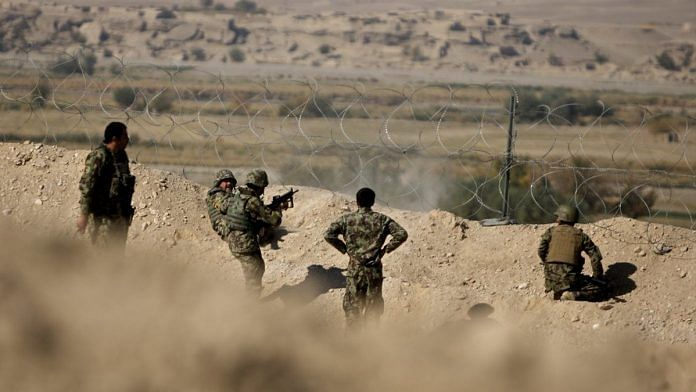 Representational image of security personnel in Afghanistan. | Photo: Flickr