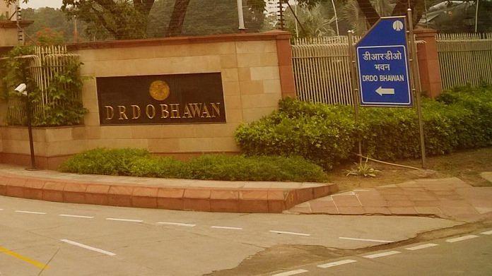 The DRDO headquarters in New Delhi
