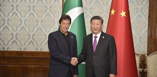 Pakistani Prime Minister Imran Khan with Chinese President Xi Jinping | File photo: @ForeignOfficePk | Twitter