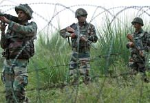 Representational image | Indian soldiers at the Line of Control in Jammu and Kashmir | PTI