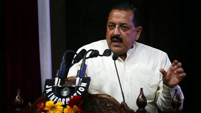 Union Minister of State Jitendra Singh met a delegation of IRS officers last week