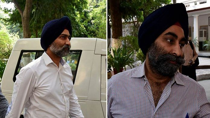 Former Ranbaxy, Fortis and Religare promoters Malvinder (left) and Shivinder Singh
