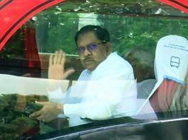 File photo of former Karnataka deputy CM G Parameshwara in Bengaluru