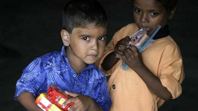 The UNICEF report stated around 38% Indian children under 5 five years of age suffer from stunting | Namas Bhojani/Bloomberg